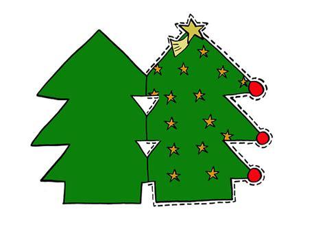 arbol navidad imprimir y recortar