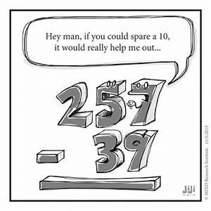 subtraction funny math cartoon | Math Cartoons & Humor ...