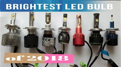 h4 led test brightest h4 led bulb of 2018 a lumens test