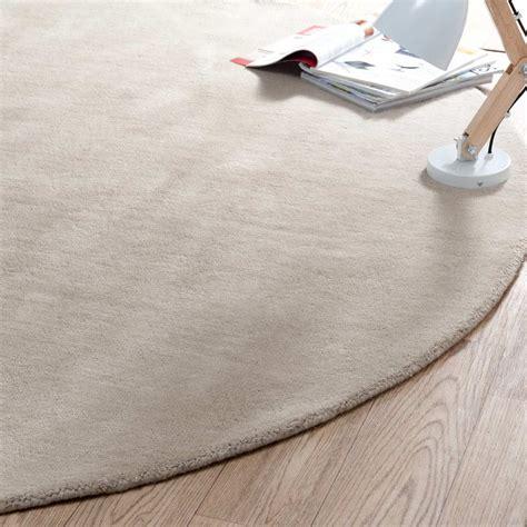 tapis bebe chambre tapis rond beige 200 cm diamètre maisons du monde