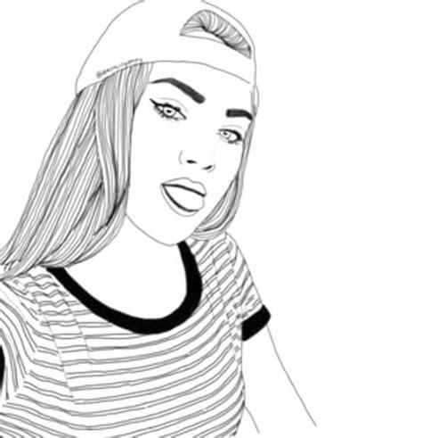 disegni  ragazze tumblr  matita tecnogers