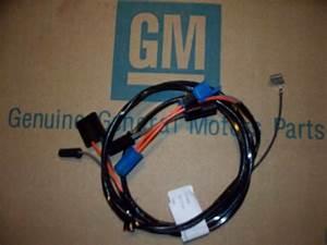 Clock Wiring Harness Chevy Camaro 68 Ss Rs  Ss Copo Pontiac