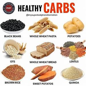 Healthy Carbs Good Carbs Bad Carbs  Why Carbohydrates