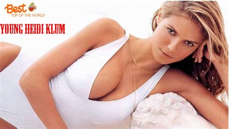 Top 20 Best Pictures Of Young Heidi Klum Youtube