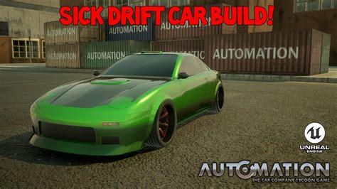 drift car build automation  car company tycoon game
