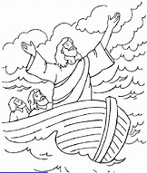 HD Wallpapers Sunday School Coloring Pages Jesus Calms The Storm