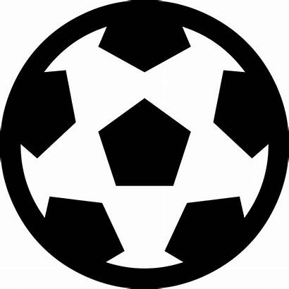 Soccer Ball Icon Vector Futbol Svg Outlined