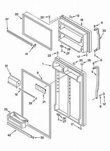 Door Parts Diagram  U0026 Parts List For Model Et1phkxpq00