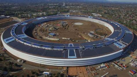 Apples Headquarters New Pictures by Apple新本社 建設遅れの原因はappleのこだわりにある ギズモード ジャパン