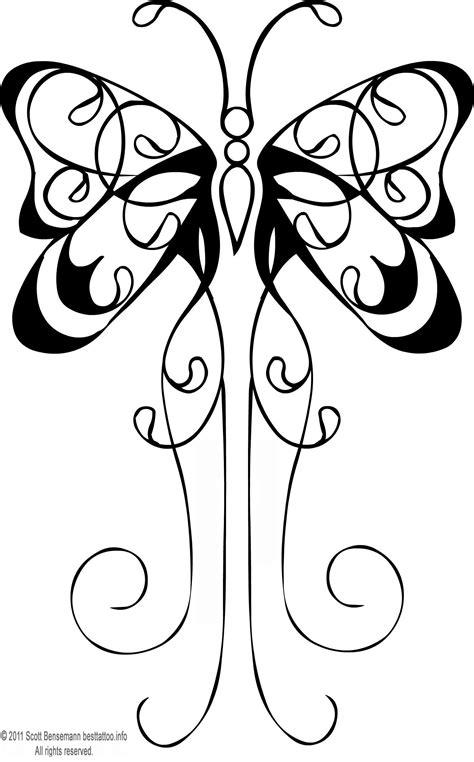 Butterfly Tattoo Flash Black Outline Female Leg Small Design 1590x2558 Pixel ~A.R. | Tattoo