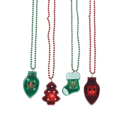 holiday light up necklaces oriental trading