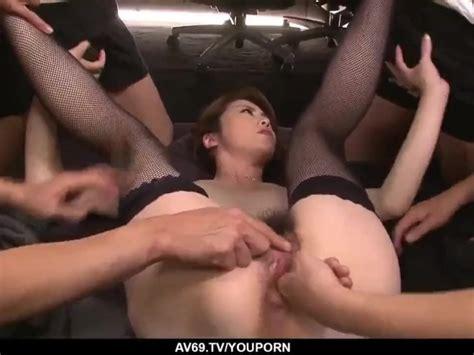 Maki Hojo Gangbang Sex In Rough Office Scenes Free Porn