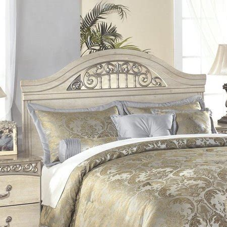 Antique White Headboards by Wood Panel Headboard In Antique