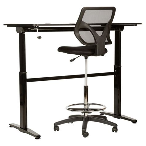 high chair for standing desk delectable 50 high office chairs inspiration design of