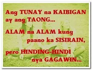 CUTE FUNNY FRIENDSHIP QUOTES TAGALOG image quotes at ...