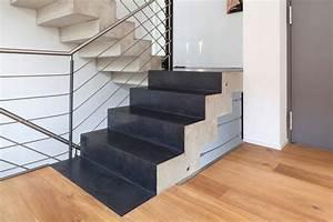 Beton Cire Treppe : beton cir auf treppe einfamilienhaus bonn von einwandfrei innovative malerarbeiten ohg homify ~ Indierocktalk.com Haus und Dekorationen