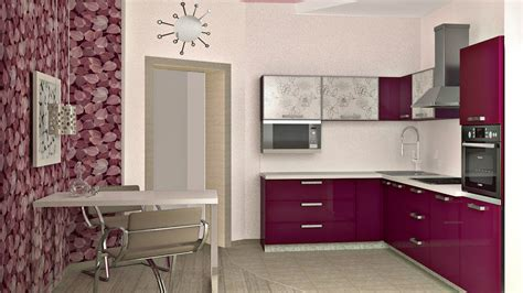 small modern kitchen design  small space