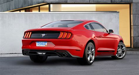 black accent 2018 ford mustang brings back the pony the torque report