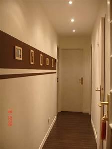idee deco couloir peinture collection avec impressionnant With peindre un couloir en 2 couleurs 8 construction maison peinture