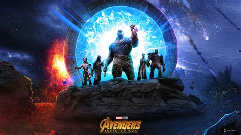 Thanos And The Black Order Wallpapers Hd Wallpapers Id
