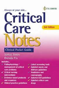 Critical Care Notes Clinical Pocket Guide 3rd Edition Pdf  U00bb Free Pdf Epub Medical Books