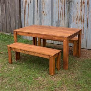 Outdoor Tables For Sale by Carencro Style Outdoor Table And Benches