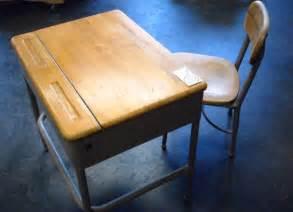 1960 s heywood wakefiels elementary school desk and chair