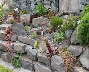 Steingarten Bilder Beispiele : steingarten am hang anlegen new garten ideen ~ Whattoseeinmadrid.com Haus und Dekorationen