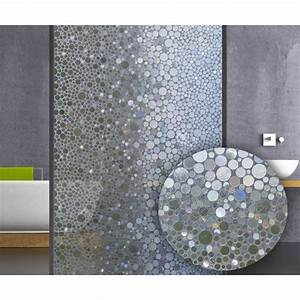 Film electrostatique design bulles et pour ma salle de for Superior idees pour la maison 9 stickers pour vitres pour decorer et pour preserver votre