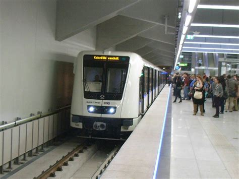 Automated Metro Line M Opens In Budapest Railway Gazette