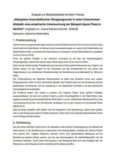 beispiel expose bachelor thesis website  writes essays