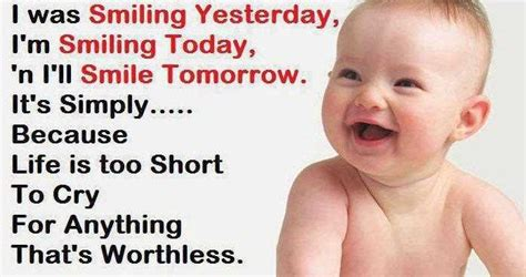 Short Quotes About Baby Smiles