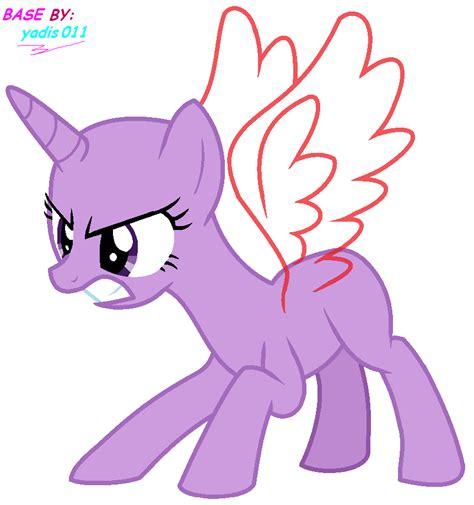 Mlp Base Twilight Sparkle Angry By Yadimiku011 On Deviantart