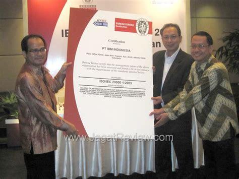 bureau veritas indonesia ibm indonesia raih sertifikasi iso 20000 jagat review