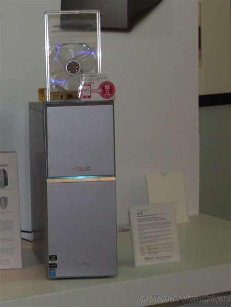 test ordinateur de bureau ces 2014 ordinateur de bureau asus m70 nfc avec chargeur