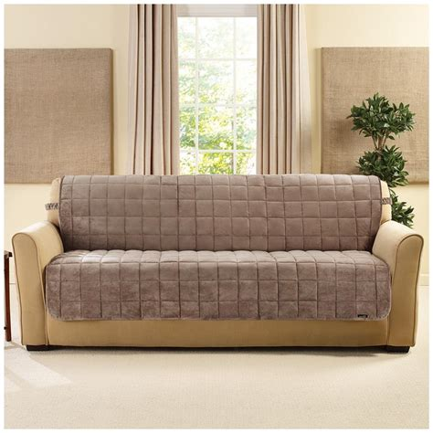 sure fit furniture covers sure fit quilted velvet furniture armless sofa