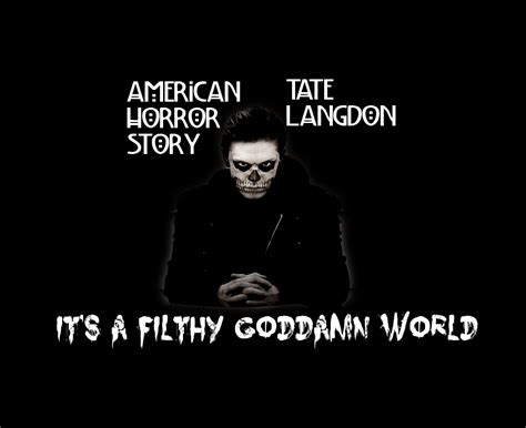 american horror story tate langdon quotes