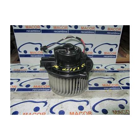 ventilador de la calefaccion mercedes ml 500 w163 04