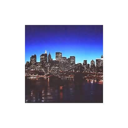 York Night Usa Lights Nyc Edits Animated