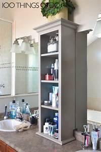 Bathroom, Vanity, Storage, Bathroom, Storage, Tower