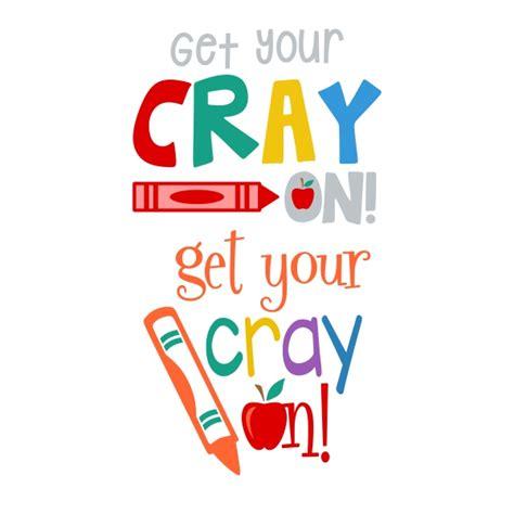crayon cuttable design