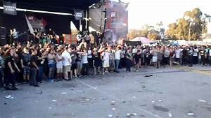 "Bring Me The Horizon LOOK Gigantic WALL OF DEATH ""Warped ..."