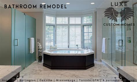 bathroom remodeling luxe custom homes renovations