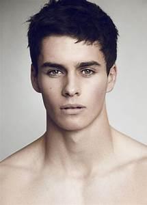 Three Column Grid Male Fashion Model Face | Faces ...