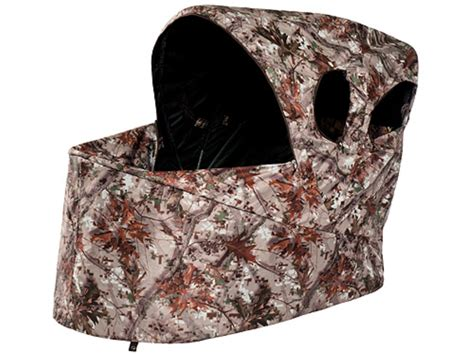 ameristep low pro one chair ground blind 36 x 48 x 43 polyester