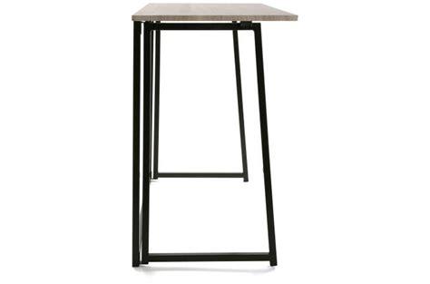 bureau pliable bureau pliable bois métal blesa design sur sofactory