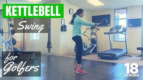 kettlebell golf swing exercises
