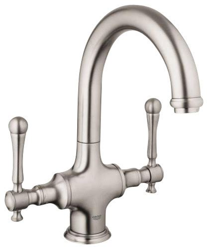 grohe bridgeford kitchen faucet grohe bridgeford faucet w o handles contemporary