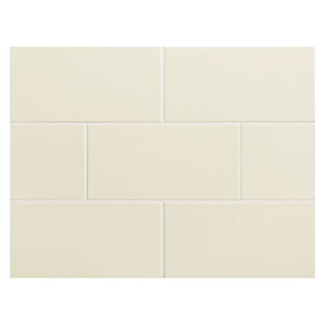 vermeere ceramic tile almond 6 gloss 3 quot x 6 quot subway tile