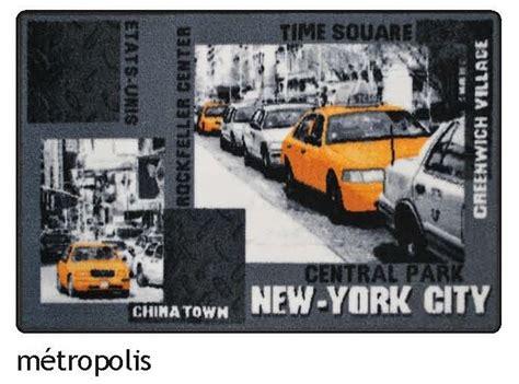 tapis de chambre york tapis 50x80 cm déco york chambre taxi jaune yorkais